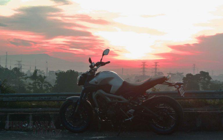 Sunday Morning Riding With MT09, Bogor-Jakarta