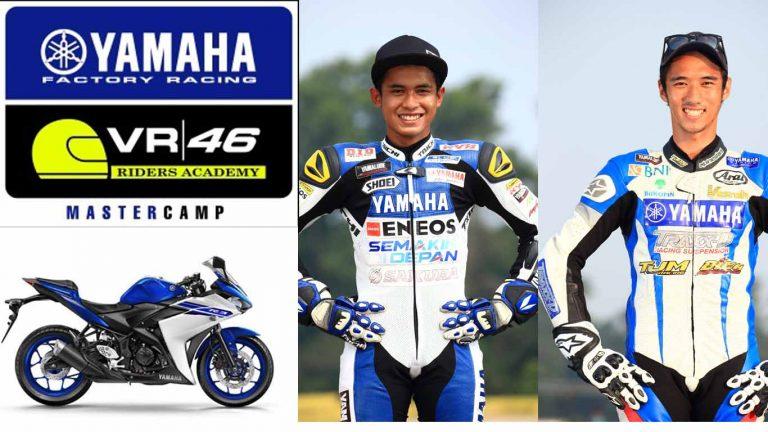 Yamaha Indonesia Berhasil Merebut Jatah 2 Dari 5 Slot Pembalap Untuk Berguru di VR46 Riders Academy!