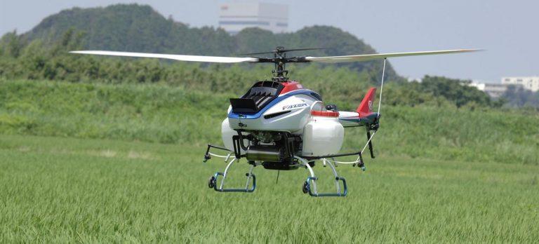 Yamaha FAZER R, Helicopter Drone Spesialis Pertanian Terbaru Dari Yamaha!