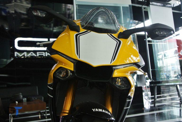Melihat Langsung Yamaha YZF-R1 60th Anniversary Edition, Warnanya Seger!