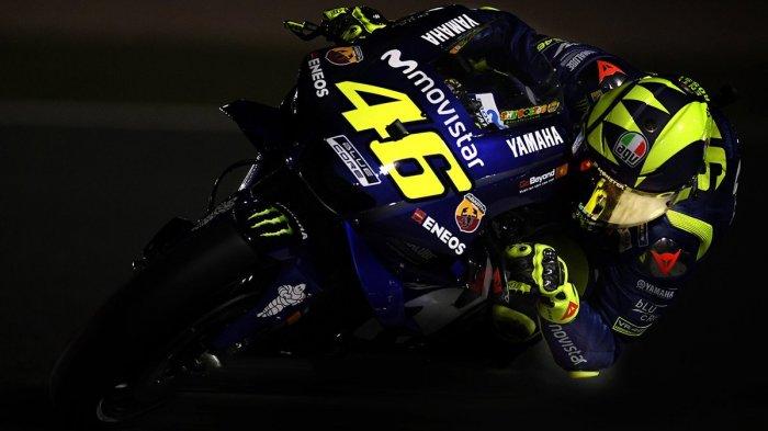 Sukses Naik Podium di Usia ke-39 Tahun di Seri Qatar, Valentino Rossi Buktikan Masih Kompetitif!