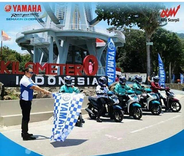 Touring Nonstop Yamaha Mio S  Sejauh 2.140 KM Cuma Habis 41 Liter!