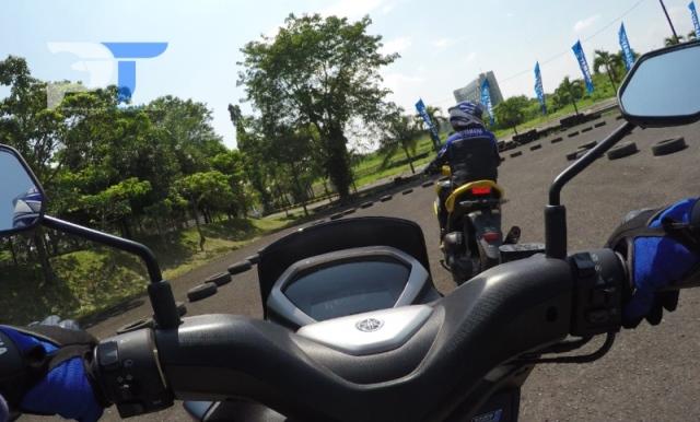 Akselerasi Yamaha Lexi Nampol, Bisa Buat Nguber Aerox 155?