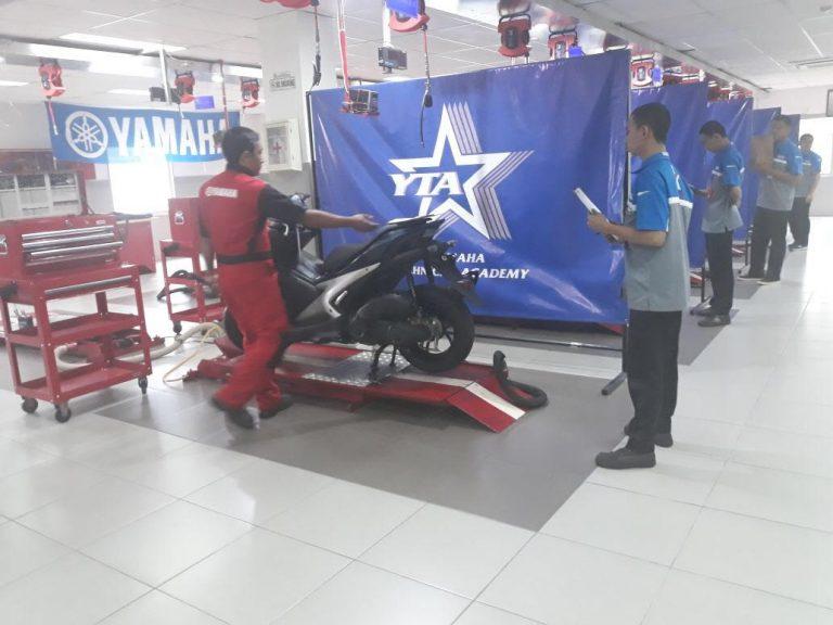 ITGP 2018 Regional Tangerang: Dari 450 Teknisi yang Ikut, Teknisi Yamaha Victory Ciruas Keluar Sebagai Pemenang!