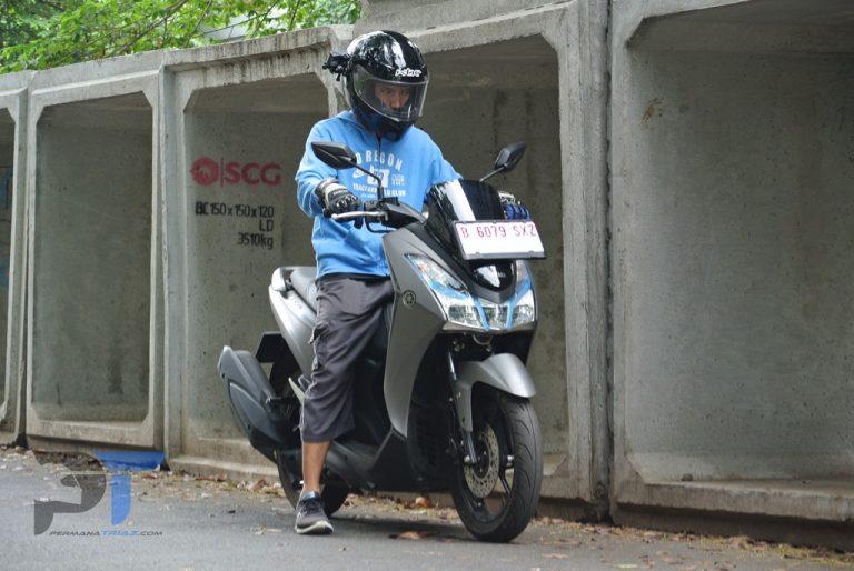 Mudik  Naik Skutik Ini, Tetap Nyaman & Aman Meski Motor Parkir Di Rest Area!