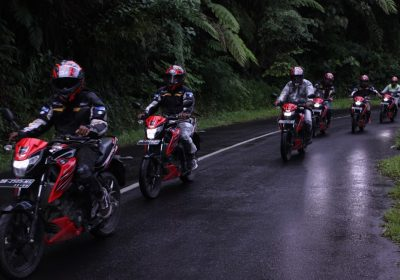GSX-S150 Bandit touring Manado