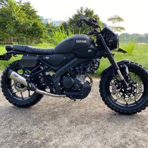 Modifikasi Yamaha XSR155 Tracker