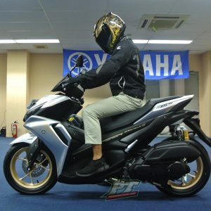 first impression All New Yamaha Aerox 155 Connected