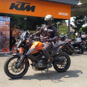 test ride KTM 390 Adventure