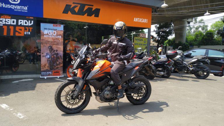 Test Ride KTM 390 Adventure: Torsi Badak, Suspensi Ajib, Handing Mantap, Beneran Motor Adventure!