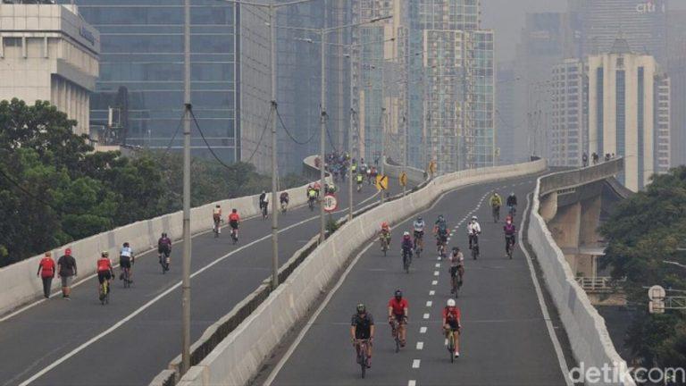 Flyover Casablanca Jadi Jalur Permanen Lintasan Road Bike, Sepeda Motor Kapan?