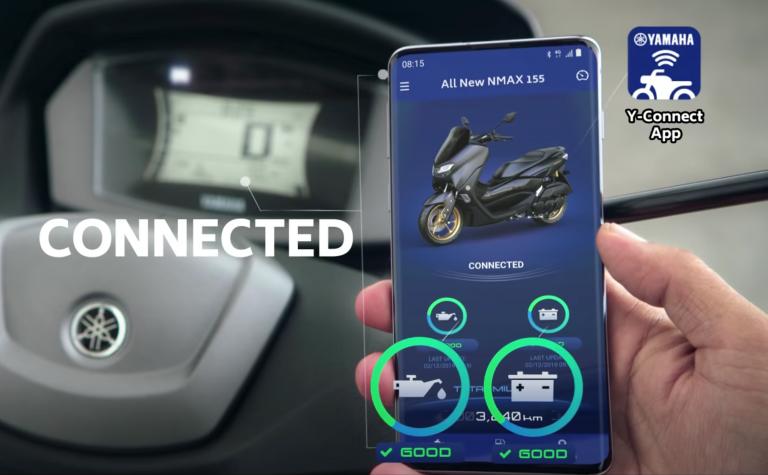 Fitur Y-Connect Menjadi Bukti Nyata Bahwa Teknologi Yamaha Lebih Canggih Dari Kompetitor